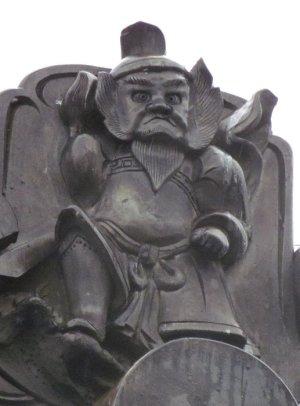 安曇野市豊科田沢の鍾馗さん