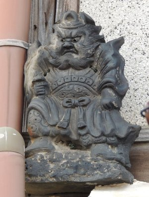 伊賀市上野忍町の鍾馗さん