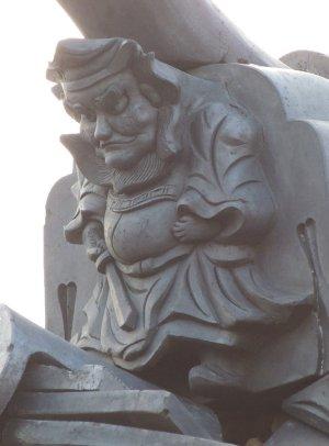 橿原市上品寺町の鍾馗さん
