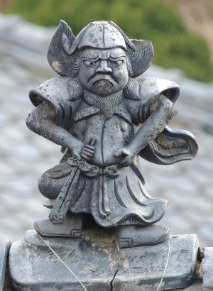 斑鳩町法隆寺の鍾馗さん