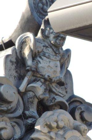 斑鳩町目安の鍾馗さん