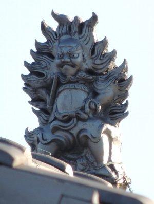 太子町蓮常寺の火焔鍾馗