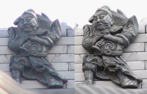 奈良市十輪院町の鍾馗さん