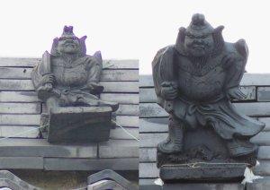 奈良市紀寺町の鍾馗さん