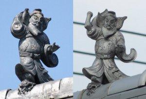 奈良市福智院町の鍾馗さん