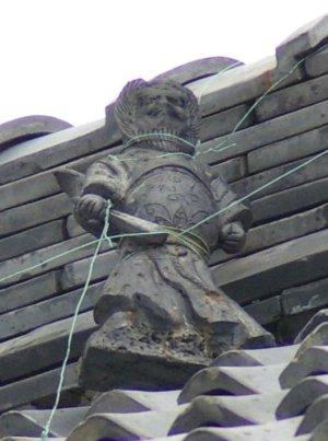 奈良市高御門町の鍾馗さん