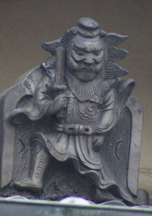 天理市二階堂上ノ庄町の鍾馗さん(消失)
