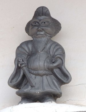篠山市小田中の鍾馗さん