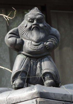 福知山市三俣の鍾馗さん