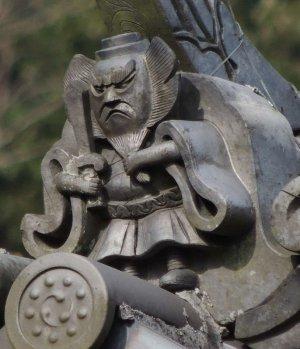 福知山市三和町草山の鍾馗さん