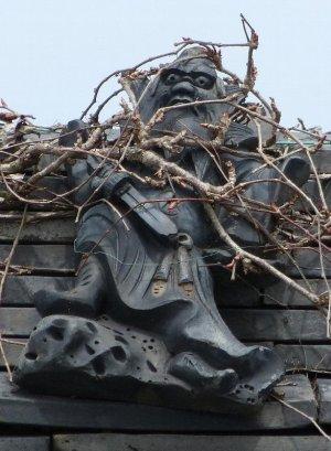 平群町平等寺の鍾馗さん(おとんさん拝借)