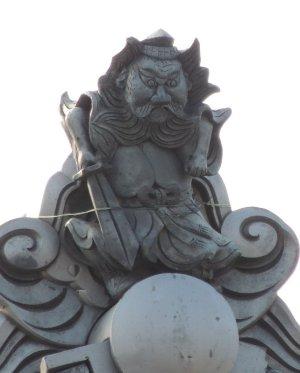 松阪市白粉町の鍾馗さん