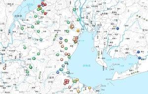#509の鍾馗さん分布マップ