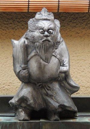 京都宮川筋の鍾馗さん