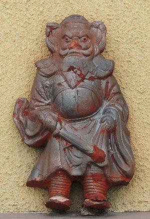 京都東山区轆轤町の鍾馗さん