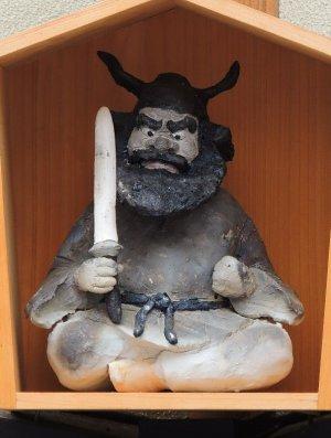 京都祇園の鍾馗さん