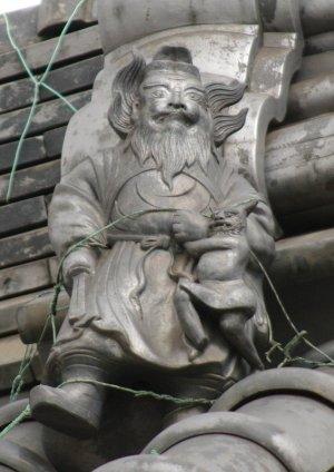 名古屋市南区本星崎の鍾馗さん
