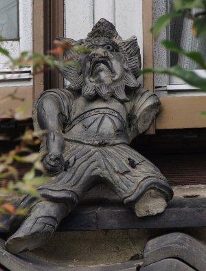 伊賀市上神戸の鍾馗さん
