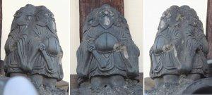 武田街道の三面鍾馗
