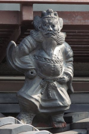 東九条中御霊町の鍾馗さん