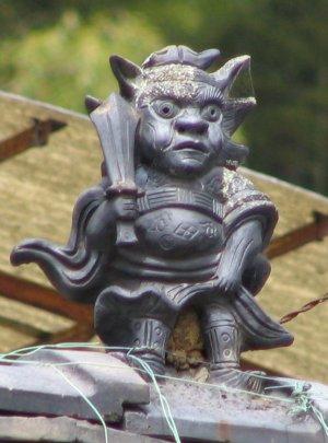 明日香村岡の鍾馗さん(2006年4月)