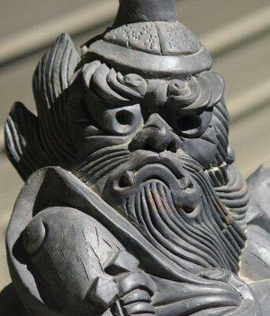 加西市の鍾馗さん(お化粧の後)