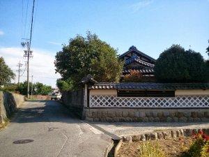 三州街道上郷黒田