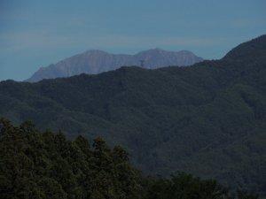 仙丈岳(南アルプス 飯島町から)