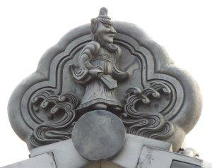 野洲市北桜の鍾馗さん