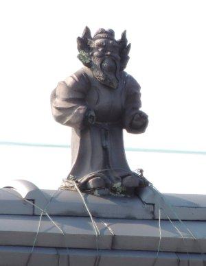 近江八幡市江頭町の鍾馗さん