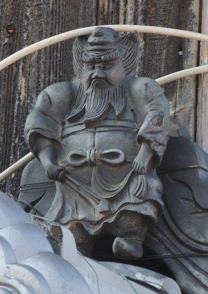近江八幡市南津田町の鍾馗さん