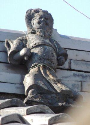 奈良市薬師堂町の鍾馗さん