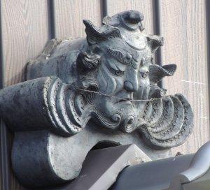 奈良市大安寺の鍾馗面