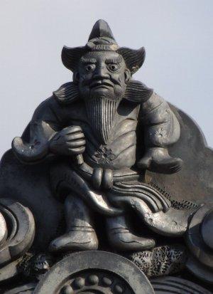 奈良市宝来の鍾馗さん
