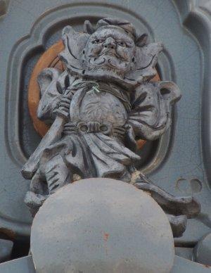 奈良市平松の鍾馗さん