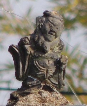 平群町椹原の鍾馗さん