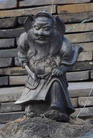 平群町越木塚の鍾馗さん