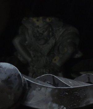 河内長野市天野町の鍾馗さん(画像処理前)