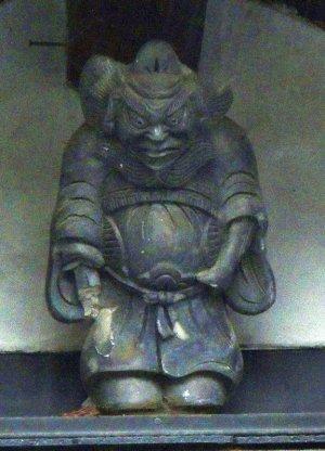 河内長野市天野町の鍾馗さん(画像処理後)