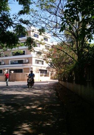 住宅街の裏道 バンガロール