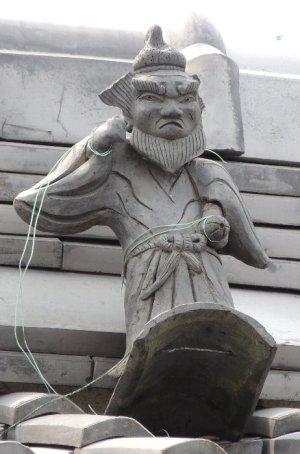 川西町結崎の鍾馗さん