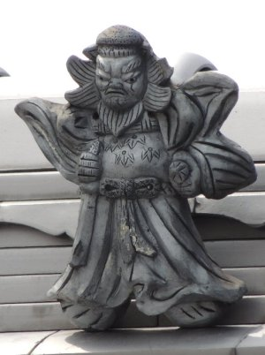 川西町唐院の鍾馗さん