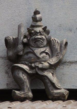 川西町保田の鍾馗さん