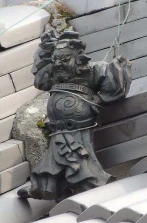 河合町大輪田の鍾馗さん