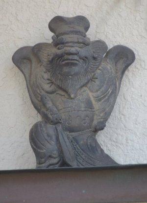 桜井市三輪の鍾馗さん
