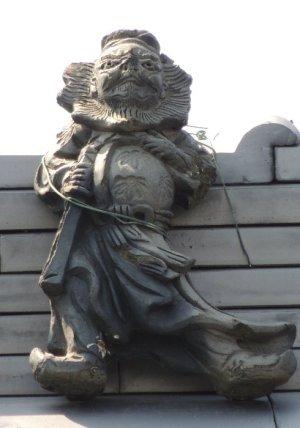 桜井市辻の鍾馗さん