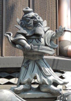 伊賀市東条の鍾馗さん