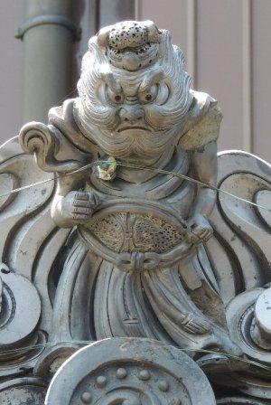 伊賀市円徳院の鍾馗さん