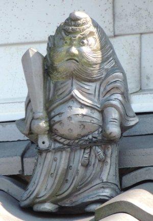 伊賀市新堂の鍾馗さん