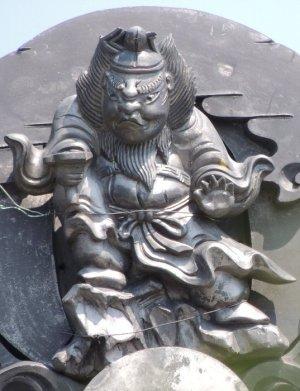 伊賀市西湯舟の鍾馗さん